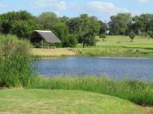 golfbaan Skukuza is een keurig aangelegde 9-holes golfbaan midden in de wildernis van het Krugerpark