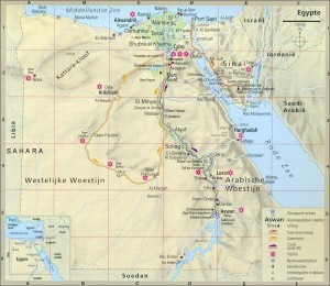 kaart_egypte