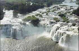 watervallen bij Christalbergen