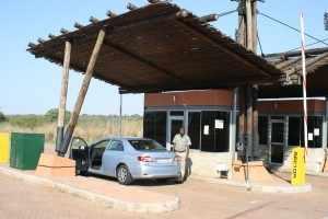 Via Phabeni Gate, een kleine ingang in het zuidelijke deel van van het Krugerpark, zijn we dit oord van ongerepte natuur binnen gereden. IMG_2846
