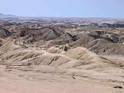 De bekendste woestijn van Namibië is de Namib-woestijn. Het is de oudste woestijn op aarde en ligt langs een groot deel van de Namibische kust.