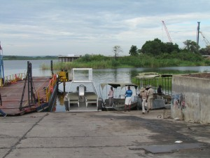 Chobe river ferry