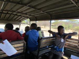met de bush kids op wilde honden expeditie